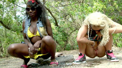 La magnifique noire Naomi Lionness se ...photo 4